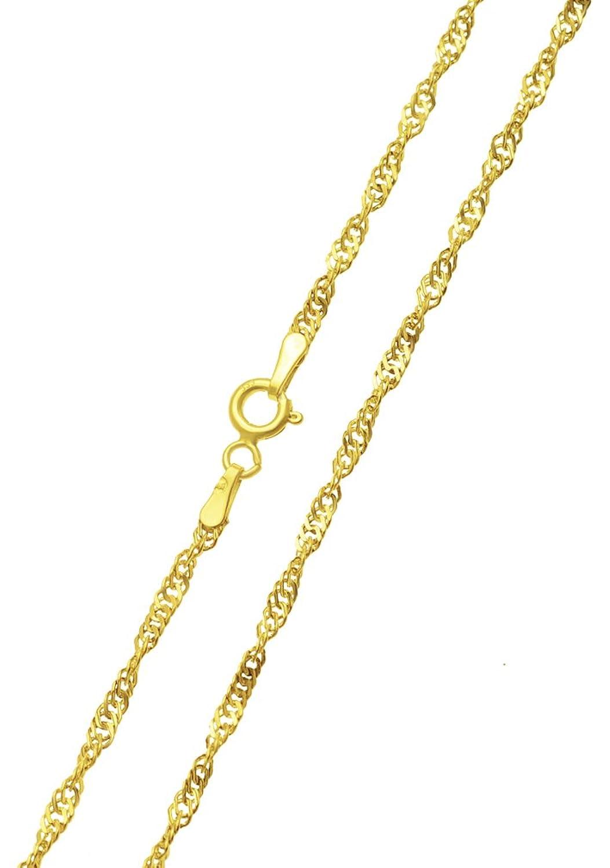 88ac7efdd095 Collar de oro oro amarillo oro Singapur Magic 333 8 KT 60 cm x 2