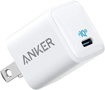 Anker 18W PIQ 3.0 PowerPort III Nano USB C Wall Charger