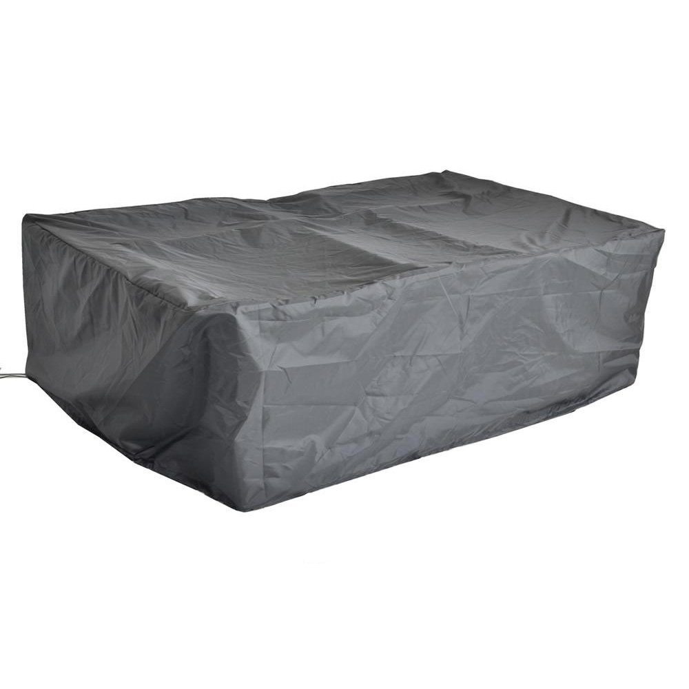 Leaptime Patio Outdoor Sofa Cover All Weather Protective Patio Furniture Sofa Cover with Drawstring-Large