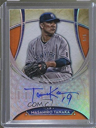 Masahiro Tanaka #5/5 (Baseball Card) 2017 Topps Five Star - [Base] - Orange #FSA-MTA ()