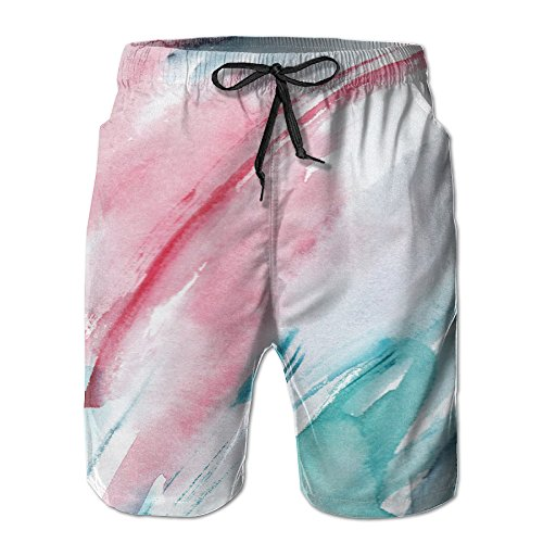 YUnMM Graffiti Color Ink Man Cotton Short (Best Canon Color Ink For Tattoos)