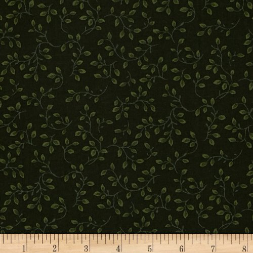 108in Wide Folio Hunter Fabric By The Yard (Quilt Vines Fabric)