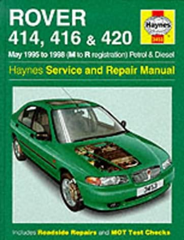 rover 400 series 95 98 service and repair manual haynes service rh amazon com Rover 75 V8 Rover Tourer