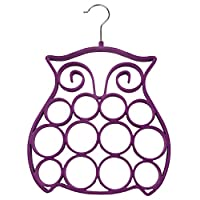 Purpletopia One Owl Scarf Hanger