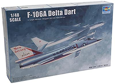 Trumpeter US F106A Delta Dart Aircraft Model Kit (1/48 Scale)