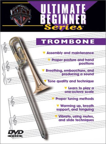 Ultimate Beginner Trombone, Vol 1 & 2 (DVD) by Alfred Music