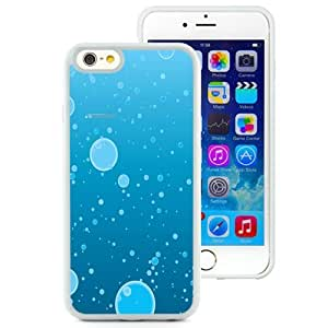 NEW Unique Custom Designed iPhone 6 4.7 Inch TPU Phone Case With Water Bubbles Illustration_White Phone Case