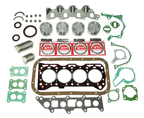SUZUKI SJ413 G13BA G13A 1.3 L (1324 cc 74.0 x 77.0 mm) SOHC 8 VALVE ENGINE TOP END REBUILD RECO KIT PISTON RING GASKET ENGINE BEARINGS SAMURAI JIMNY DROVER CULTUS SWIFT MK1 SUBURU JUSTY SIDEKICK GYPSY