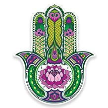 2 x 20cm/200mm Hamsa Hand Vinyl Sticker Decal Laptop Travel Luggage Car iPad Sign Fun #9011