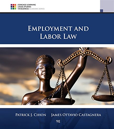 Employment and Labor Law by South-Western College/West