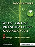 Inspire yourself and others with the second edition of this best-selling book. With heartfelt advice, practical wisdom, and examples from the field, Todd Whitaker explains the qualities and practices that distinguish great principals. New features...