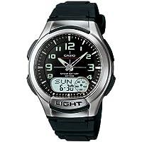 Relógio Masculino Anadigi Casio AQ-180W-1BVDF - Preto