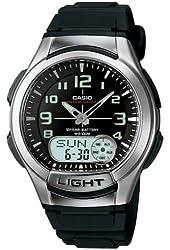 Casio Men's AQ180W-1BV Ani-Digi Light Watch