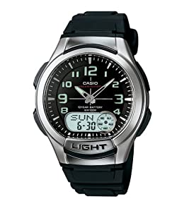 Casio Men's AQ180W-1BV Ani-Digi Light Watch
