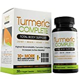 Turmeric Complete – Anti-Inflammatory Immune System Booster, Total Body Support For Sale