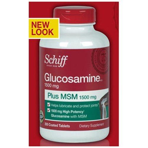 Шифф глюкозамин плюс МСМ Таблетки, 400 Граф