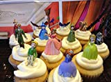 Disney Princess Sofia the First Cake Toppers / Cupcake Party Favor Decorations Set of 12