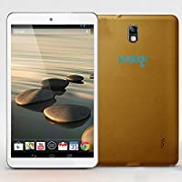Indigi Gold 7 Android 4.2 Tablet Leather Back Dual Camera WiFi HDMI Google Play Store