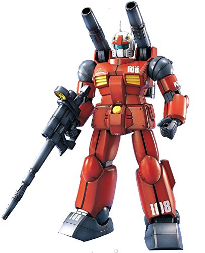 "Bandai Hobby MG 1/100 RX-77-2 GUN Cannon ""Gundam"" Model Kit"
