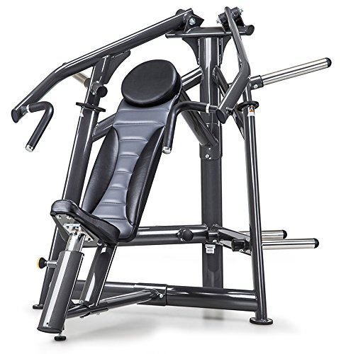 SportsArt Fitness A977 Plate Loaded Incline Chest Press for Club Use - Commercial Upper Chest Machine with Independent Converging Press Arms