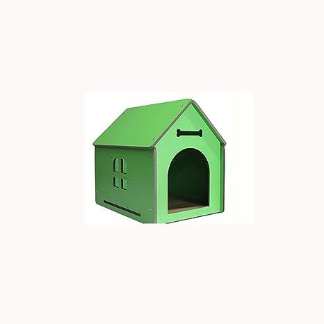Lijin light Gran Perrera de Madera Maciza Grande Mediana y pequeña casa de Perro al Aire