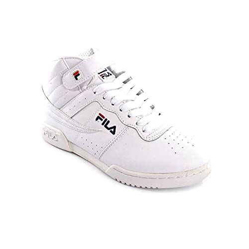 Fila F13 Mens US Size 7 White Leather Sneakers Shoes