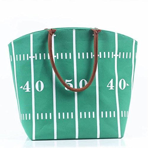 Football Game Day Tailgating Tote, Monogram Blank