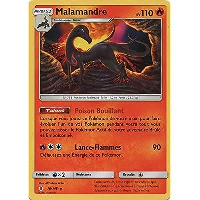 "Carte Pokémon ""Malamandre"" 16/145 SL2 - Rare"