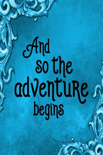 - Travel Journal - And So The Adventure Begins (Aqua): 100 page 6