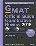 img - for GMAT Official Guide 2018 Quantitative Review: Book + Online (Official Guide for Gmat Quantitative Review) book / textbook / text book