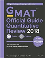 GMAT Official Guide 2018 Quantitative Review, 2nd Edition Front Cover