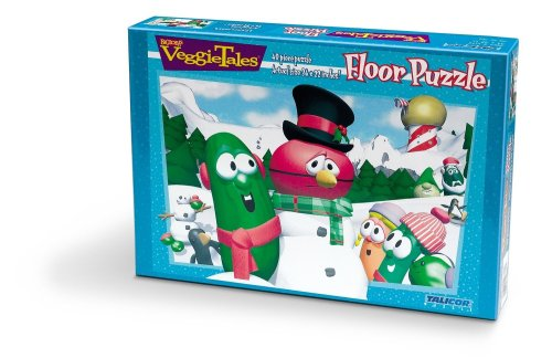 Veggietales Snow Fun Floor Puzzle ()