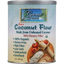 Coconut Secret - Raw Coconut Flour - 1 lb by Coconut Secret