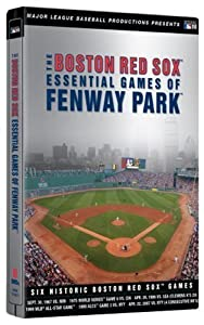 The Boston Red Sox Essential Games Of Fenway Park Steelbook Packaging By AE HOME VIDEO