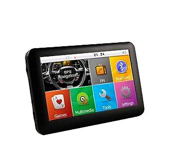 Y&Jack Car Driving Recorder Coche GPS navegación, 4,3 Pulgadas GPS ...