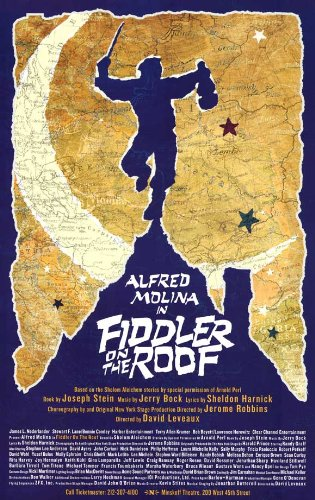 Fiddler on the Roof (Broadway) 11 x 17 Poster - Style A
