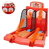 Perfect Life Ideas One or Two Player Desktop Basketball Game Classic Arcade Games Basket Ball Shootout Table Top Toy