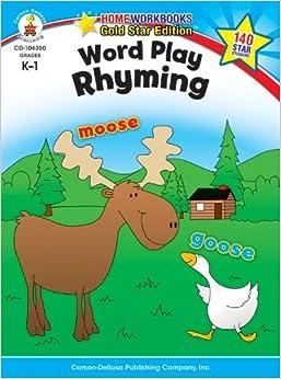 }DOCX} Word Play: Rhyming, Grades K - 1: Gold Star Edition (Home Workbooks). maestria coches Diametro enabled Events scuola Kenya healthy