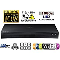 SAMSUNG BD-F5700 Wi-Fi Region Free Blu Ray DVD Player