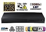 SAMSUNG BDJ-5700 (Compact 12W'' x 2H'' x 8D'') WI-FI All Zone Multi Region DVD Blu ray Player - 100~240V 50/60Hz, 1 USB, 1 HDMI, 1 COAX, 1 ETHERNET + 6 Feet HDMI Cable Bundle