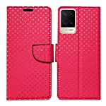 MyFlips Bindi Pink Flip Cover for Oppo A54