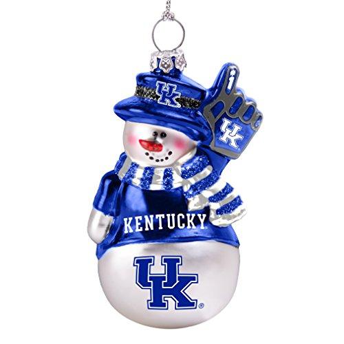 Snowman Wildcats Kentucky (Boelter Brands NCAA Kentucky Wildcats Glitter Snowman Ornament)