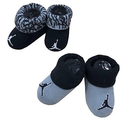 NIKE Michael Jordan Booties 0-6 Months 2 Pairs