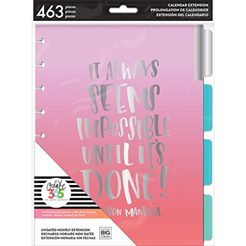 me & my BIG ideas MONT-10 The Happy Planner Extension Pack Classic Multi