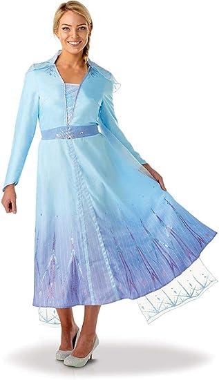 Rubies - Disfraz oficial de Disney Frozen 2, Elsa de lujo, para ...