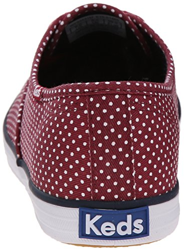 Keds-dames Kampioen Micro-dot Mode Sneaker Bietrood