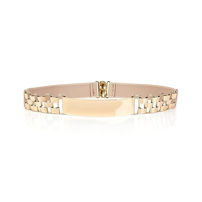 vera qualità miglior prezzo per super economico rispetto a Ya Jin Cintura elegante a vita alta con cintura specchiata ...