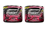 Hydroxycut Hardcore Elite Powder Fruit Fusion, 2-pack, 60 Servings
