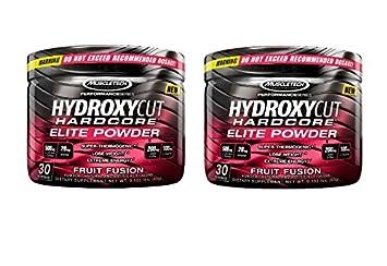 Hydroxycut Hardcore Elite Powder Fruit Fusion, 2-pack, 60 Servings 2