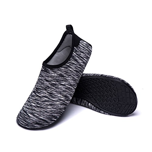 Pool LK Aerobics Beach for Dry Barefoot Mens Aqua Surf Shoes Womens Yoga Swim Socks Water Hw Quick Skin Shoes Shoes Kids black LEKUNI RC0qxrRwZ